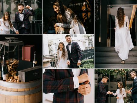 Miejski ślub Oli i Jonasza | Młyńska 12