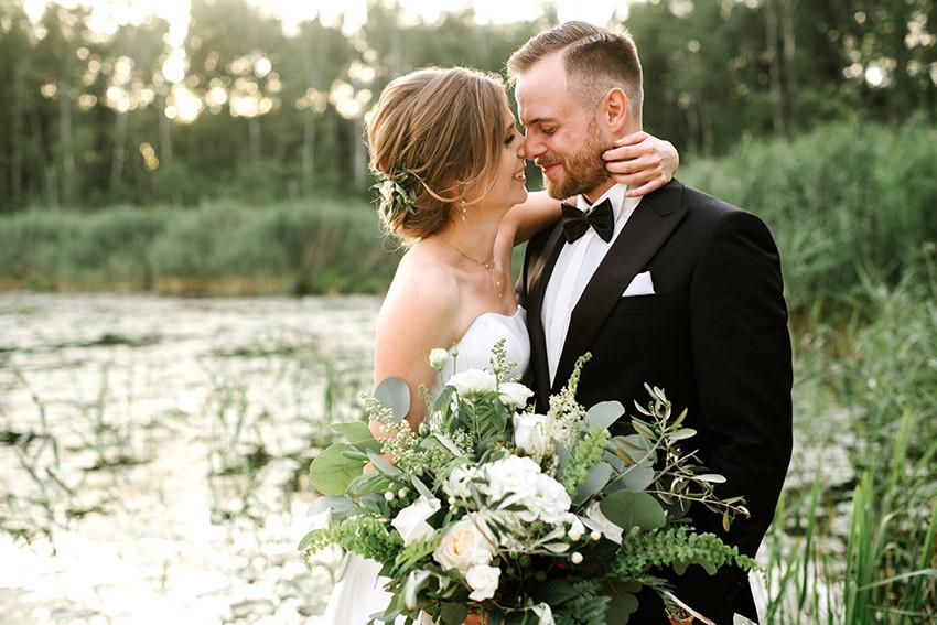 mikrosesja w dniu ślubu