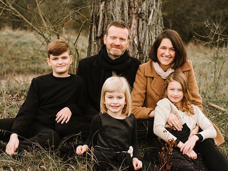 Sesja rodzinna w listopadzie - TAK!