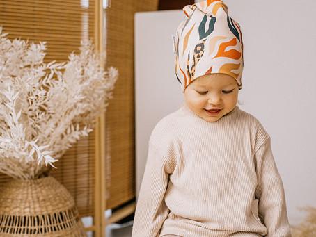 SWEET SLOTH | Nowa polska marka czapeczek dla dzieci