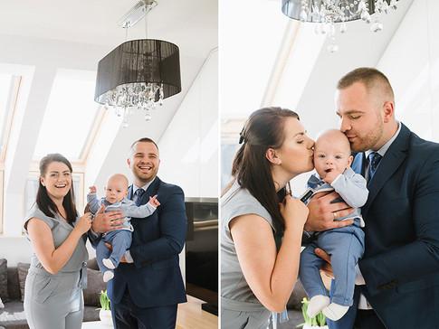 zdjęcia rodzinne z chrztu świętego