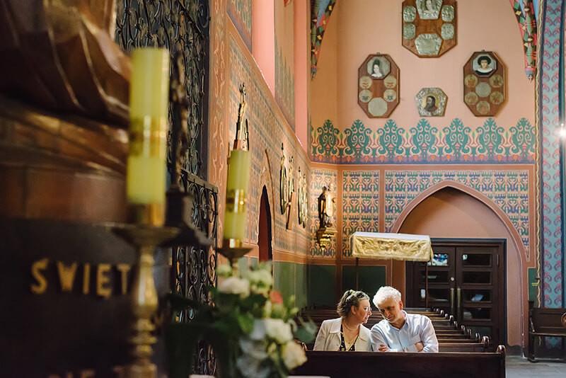 ślub w Kościele św. Wojciecha Poznań