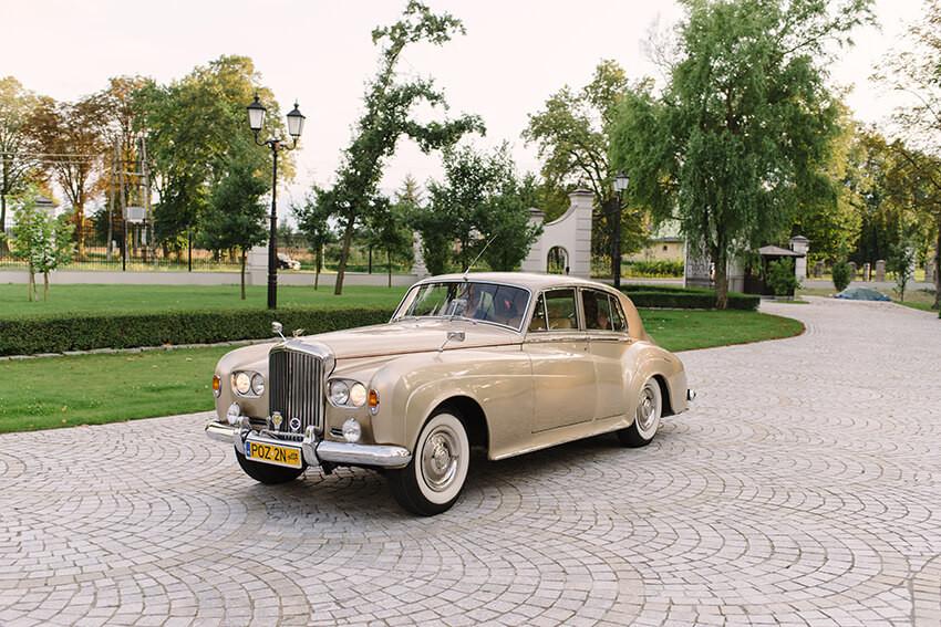 auto do ślubu Poznań