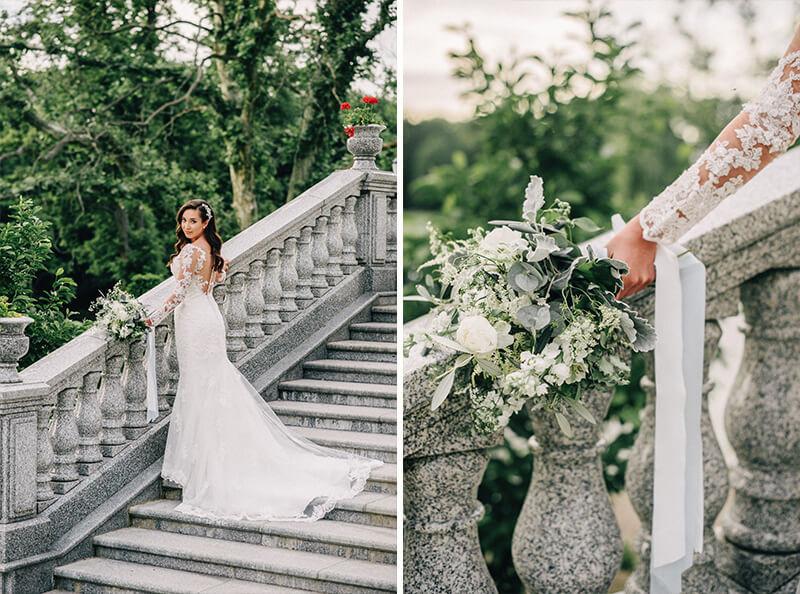 naturalny bukiet ślubny od kwiaty i miut