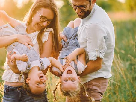 Letnia sesja rodzinna w plenerze | Łukasz i Daria