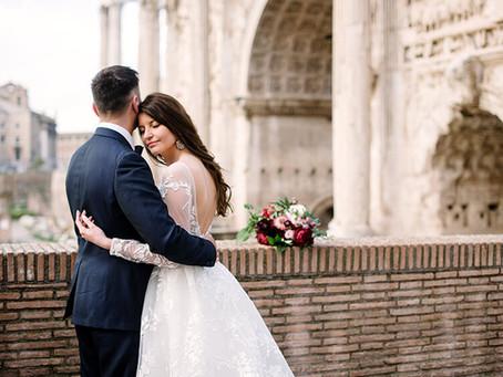 Sesja ślubna w Rzymie | Hanna i Rafał