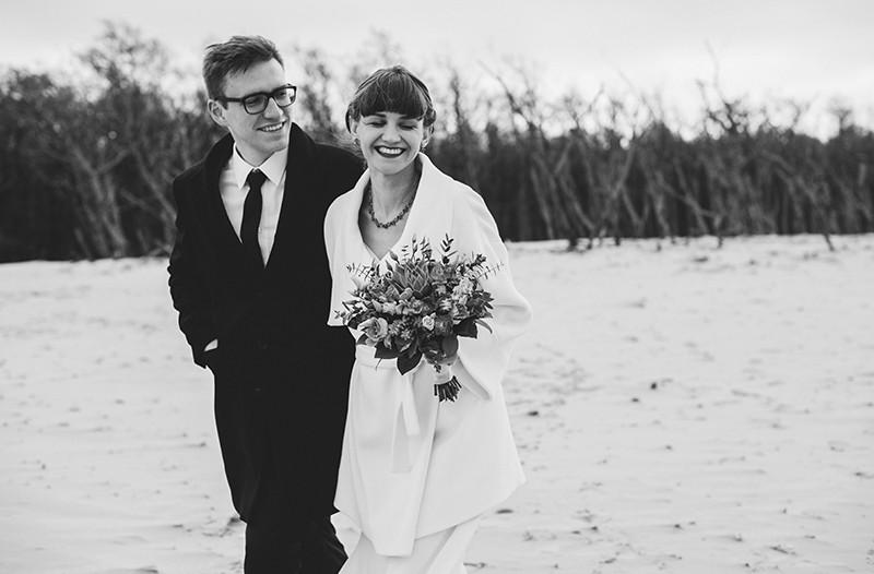 sesja ślubna w Łebie