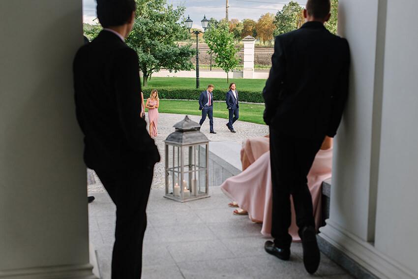 ślub w Pałacu Tarce