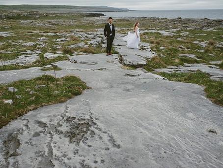 Sesja ślubna w Irlandii | Cliffs of Moher | Ola i Andrew