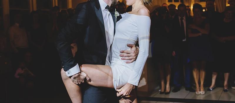 pierwszy taniec w Pałacu Tłokinia