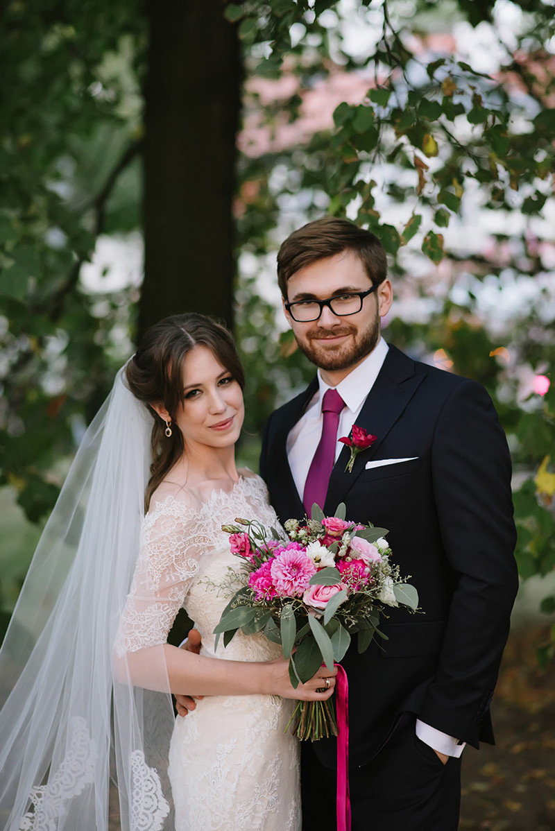 Minisesja w dniu ślubu w Pałacu Zdunowo