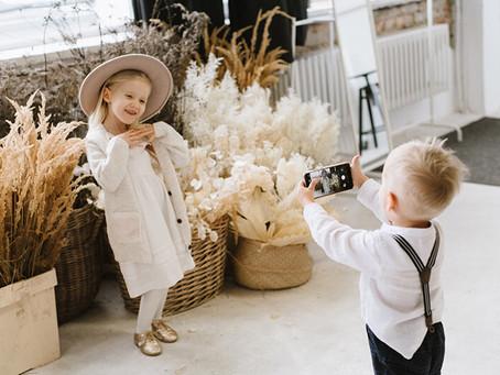 Rodzinna sesja zdjęciowa w stylu BOHO | Fotografia rodzina Poznań