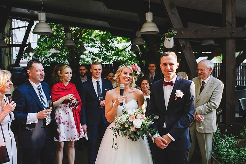 przemówienie pary młodej na ślubie