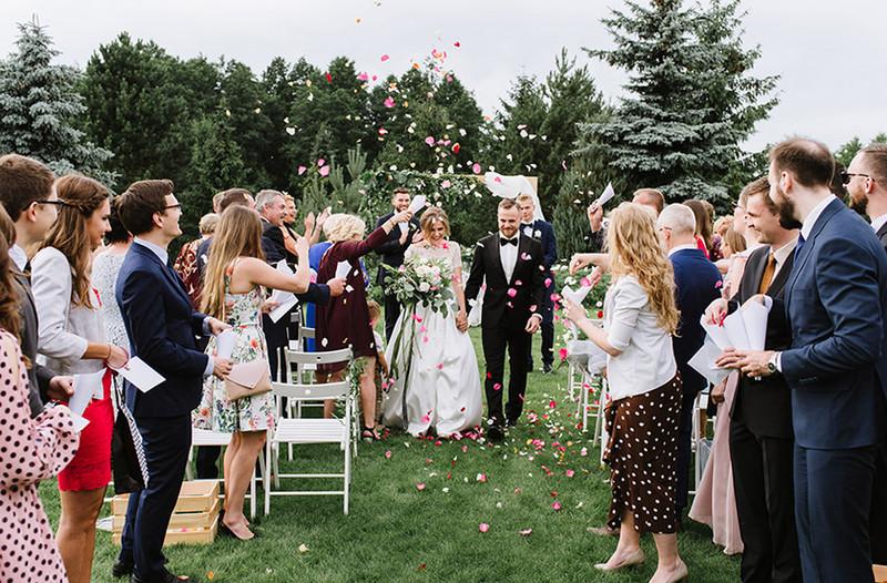 Ślub plenerowy w Weranda Home