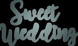 logo sweet wedding