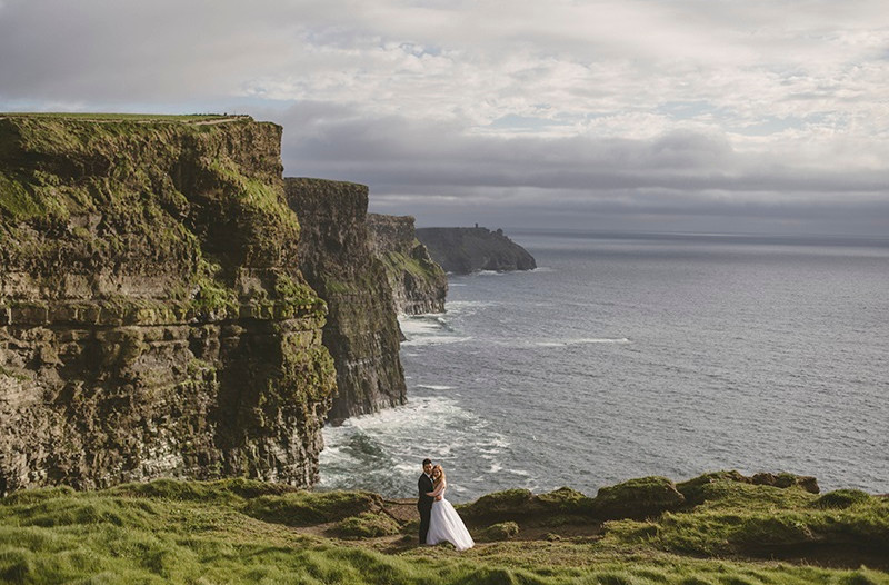 sesja plenerowa w Irlandii