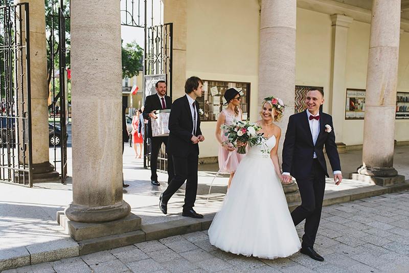 ceremonia ślubu u Dominikanów