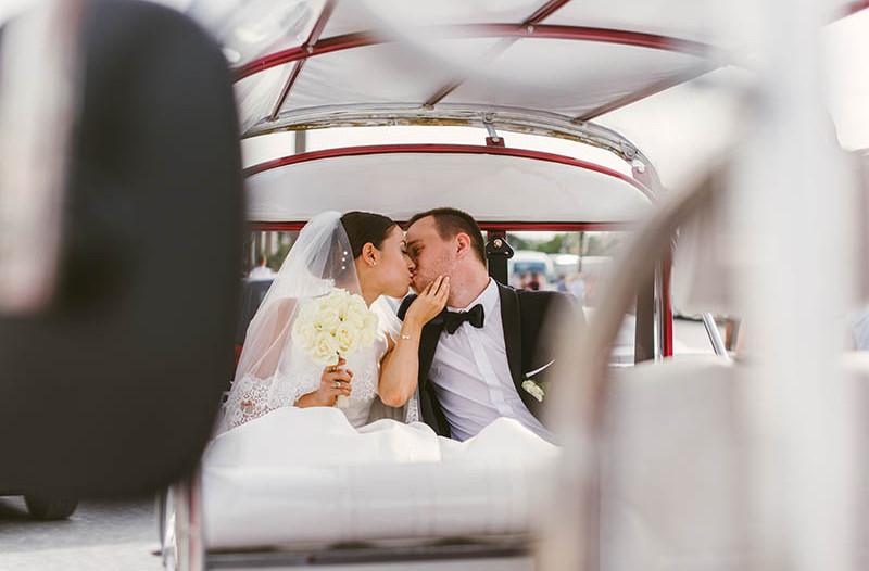 zdjęcia ślubne w Paryżu