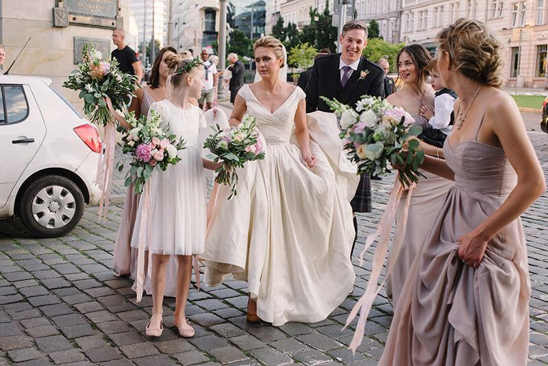 Ślub polsko-szkocki w Bazarze Poznańskm