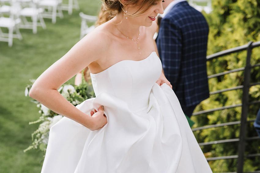 Panna Młoda w sukni ślubnej Amy Love