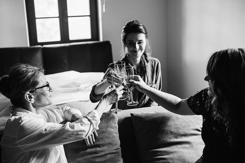 toast a przygotowaniach