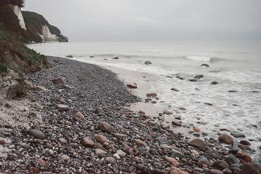 plaża na Rugii