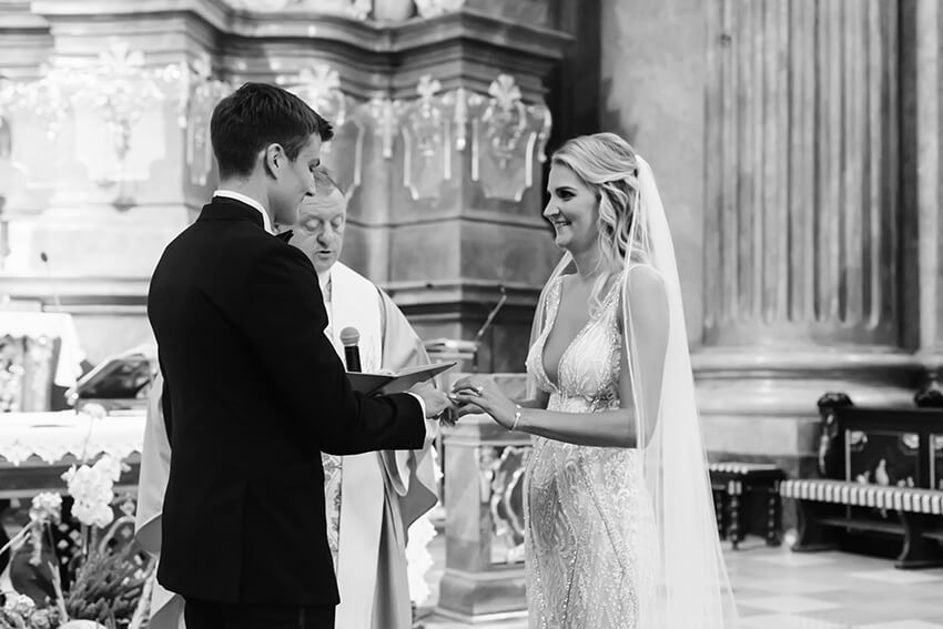 ślub w Farze Poznańskiej