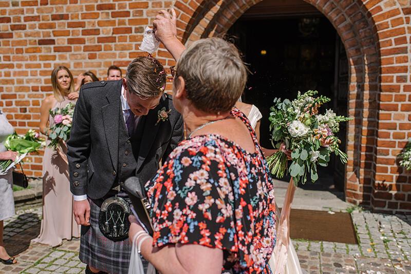 Ślub w Kościele św.Wojciecha w Poznaniu