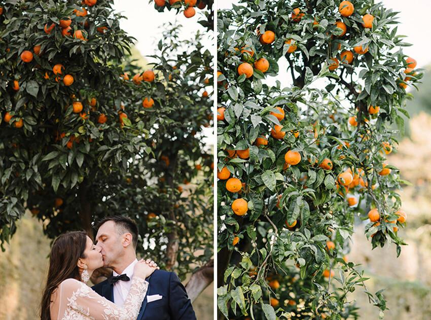 pomarańcze w rzymie