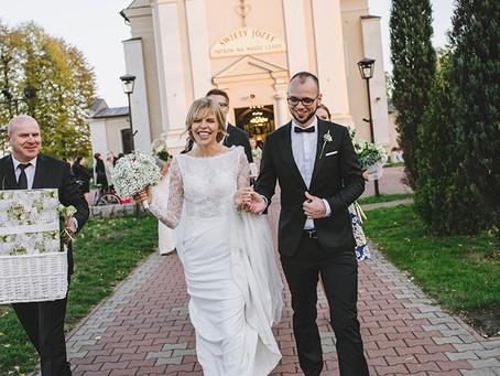Ślub w Pałacu Tłokinia | Fotograf ślubny Poznań | Paulina i Jacek