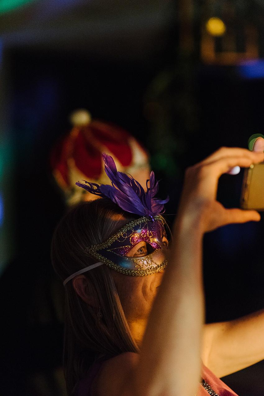 maska wenecka na bal przebierańsców