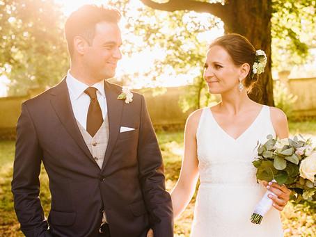 Kameralny ślub w Dworku Separowo | Zosia i Tomek | Fotografia ślubna
