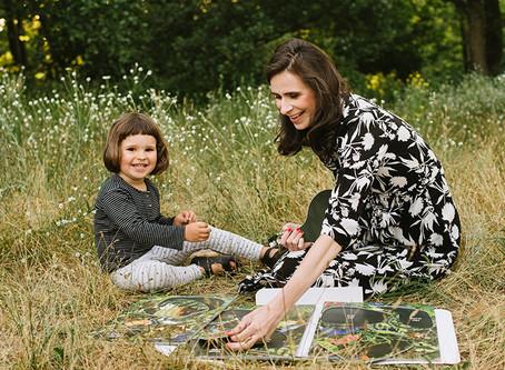 MIKULU TOYS - leśna układanka w duchu Montessori