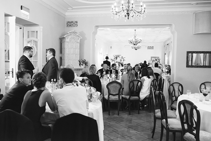 przyjęcie weselne w Pałacu Zdunowo