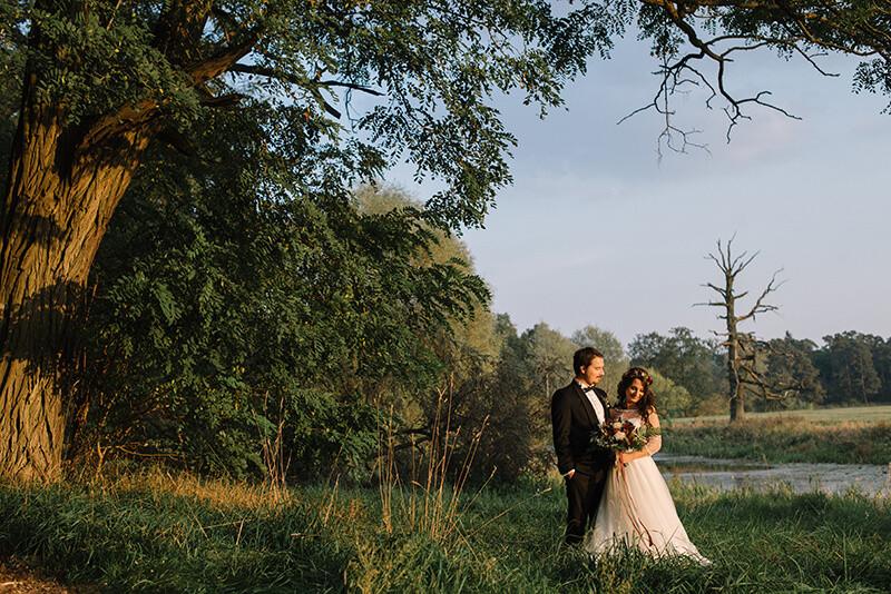 Rogalin sesja ślubna