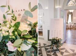 dekoracje kwiatowe Bazar Poznański