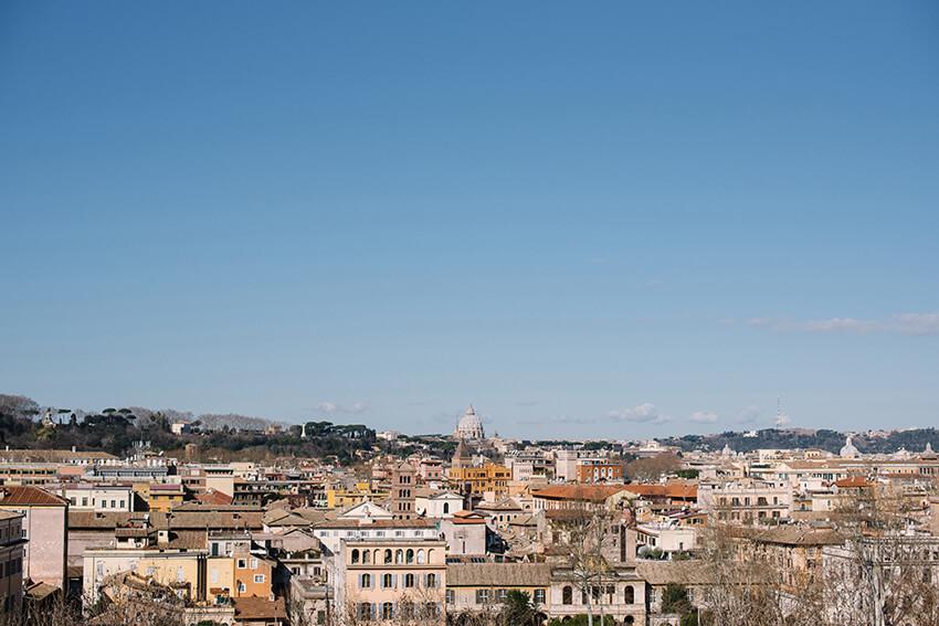 taras widokowy w rzymie