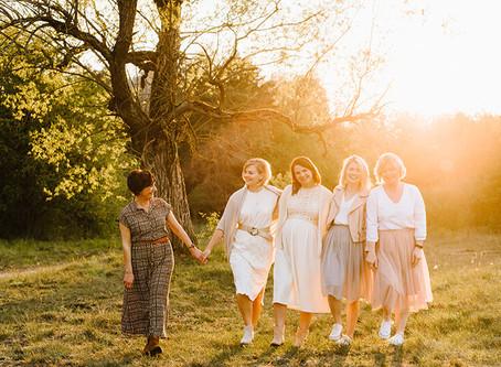 Girls power! | Wyjątkowa sesja na Dzień Matki
