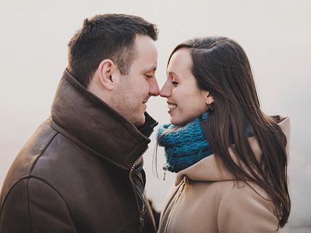 Jesienna sesja ciążowa | Marta i Tymo