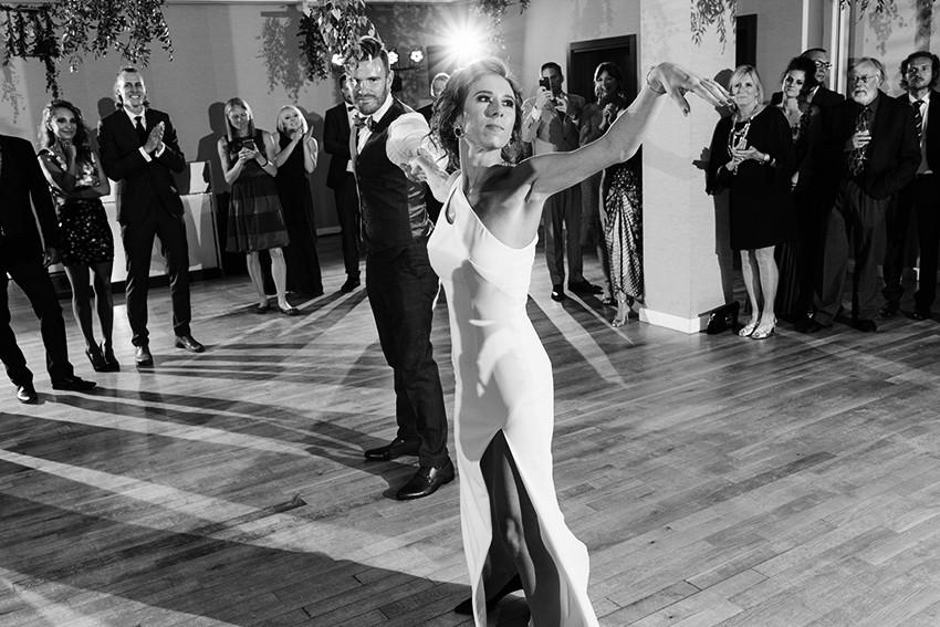 pierwszy taniec pary młodej