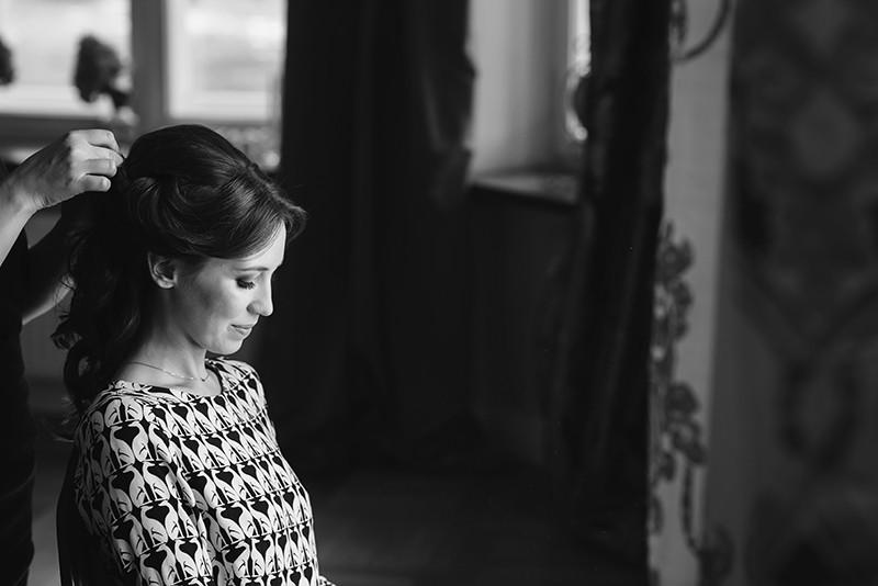 przygotowania do ślubu w Pałacu Zdunowo