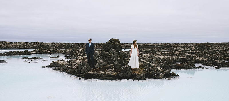 sesja na Islandii