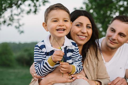 sesja zdjęciowa z dzieckiem