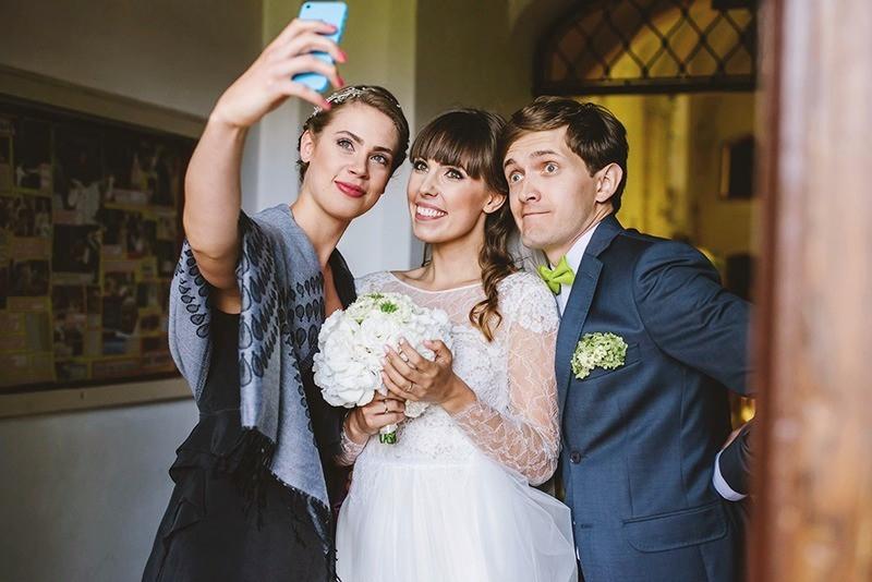 selfie ze świadkową