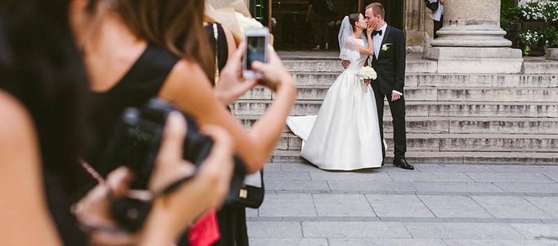 ceremonia ślubna w Paryżu