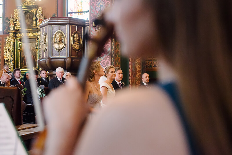 ślub w Kościele św. Wojciecha w Poznaniu