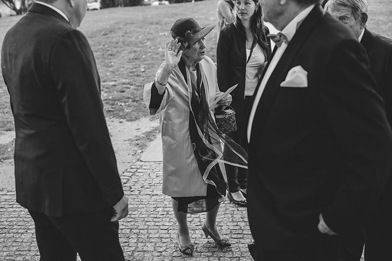 składanie życzeń przez gości weselnych