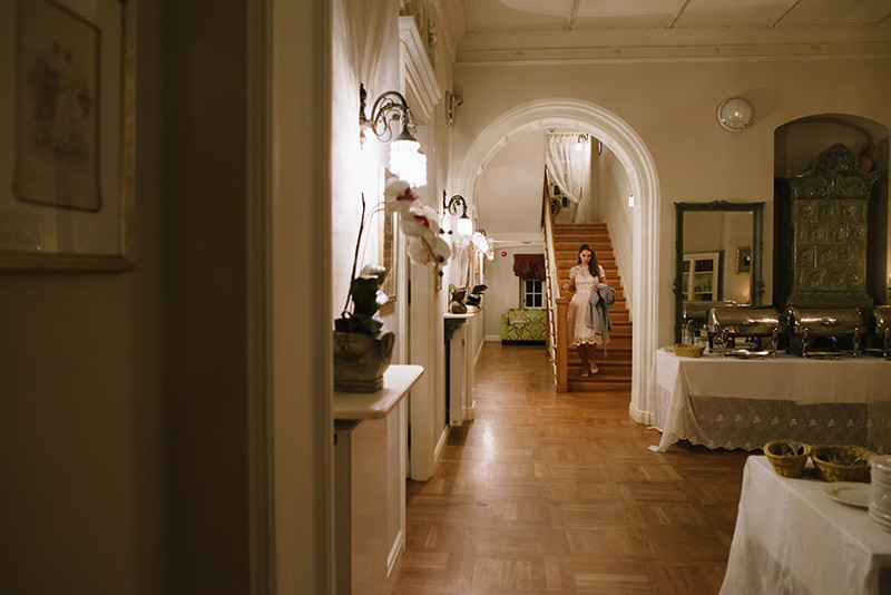 wnętrza Pałacu Zdunowo