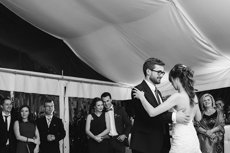 pierwszy taniec w namiocie Pałacu Zdunowo