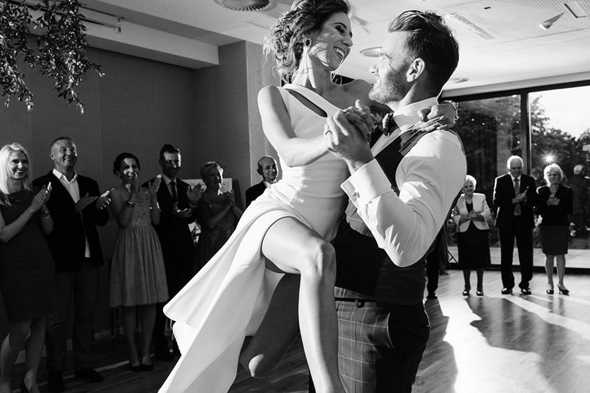 pierwszy taniec pary młodej w herbarium hotel & spa